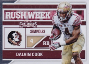 2017 Panini Contenders Draft Picks Football Cards 28