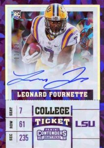2017 Panini Contenders Draft Picks Football Variations Guide 7