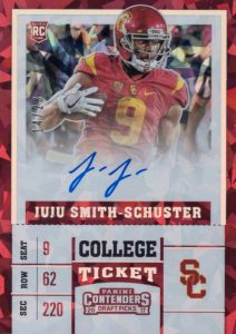 2017 Panini Contenders Draft Picks Football Variations Guide 16