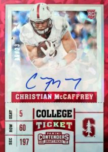2017 Panini Contenders Draft Picks Football Variations Guide 23