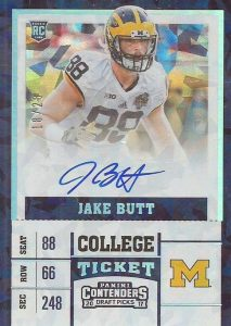 2017 Panini Contenders Draft Picks Football Variations Guide 35