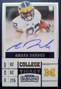 2017 Panini Contenders Draft Picks Football Variations Guide 59