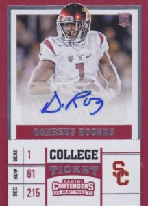 2017 Panini Contenders Draft Picks Football Variations Guide 115