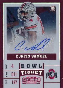2017 Panini Contenders Draft Picks Football Variations Guide 116