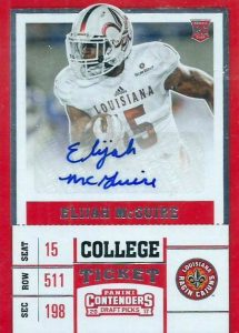 2017 Panini Contenders Draft Picks Football Variations Guide 120
