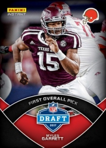 ce94857be48ce 2017 Panini Instant NFL Football Cards - Updated Checklist 84