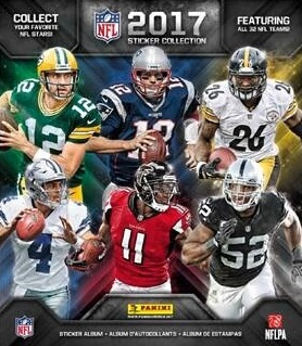 bd54b592d 2017 Panini NFL Stickers Collection Checklist