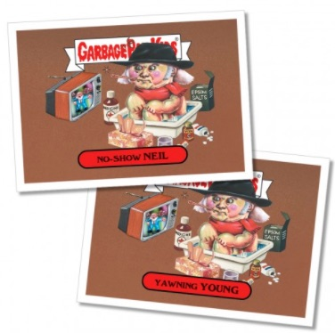 2017 Topps Garbage Pail Kids Rock & Roll Hall of Lame Trading Cards 22
