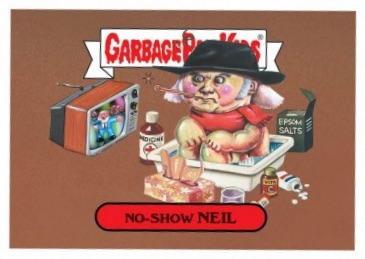 2017 Topps Garbage Pail Kids Rock & Roll Hall of Lame Trading Cards 1