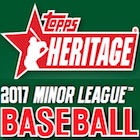 2017 Topps Heritage Minor League Baseball Cards