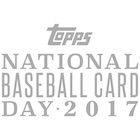 2017 Topps National Baseball Card Day Promo Cards