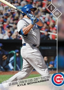 2017 Topps Now Baseball Cards 98