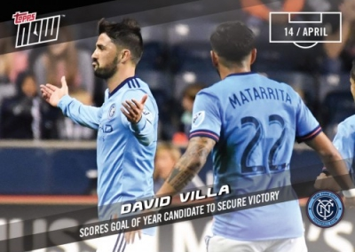 2017 Topps Now MLS