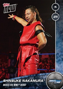 2017 Topps Now WWE Trading Cards 26