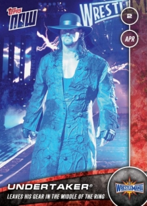 2017 Topps Now WWE Trading Cards 25