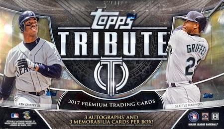 2017 Topps Tribute Baseball Cards 33