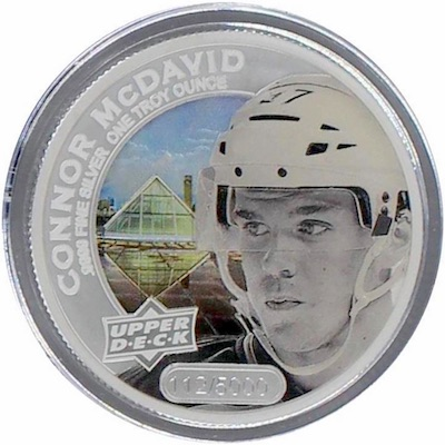 2017 Upper Deck Grandeur Hockey Coins 26