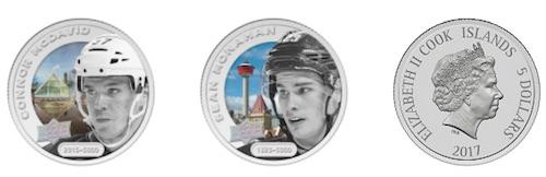 2017 Upper Deck Grandeur Hockey Coins