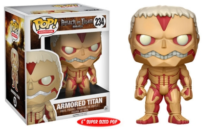 Ultimate Funko Pop Attack on Titan Figures Checklist and Gallery 11