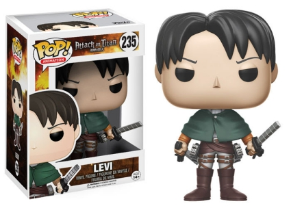 Ultimate Funko Pop Attack on Titan Figures Checklist and Gallery 12