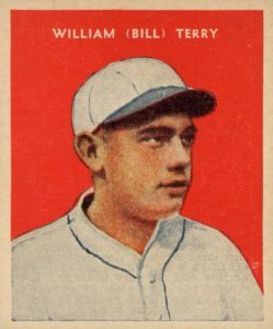 Top 10 Bill Terry Baseball Cards 7