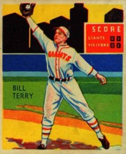 Top 10 Bill Terry Baseball Cards 8