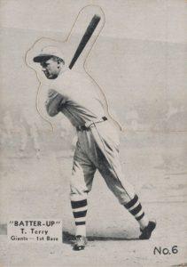 Top 10 Bill Terry Baseball Cards 5