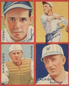 Top 10 Bill Terry Baseball Cards 3