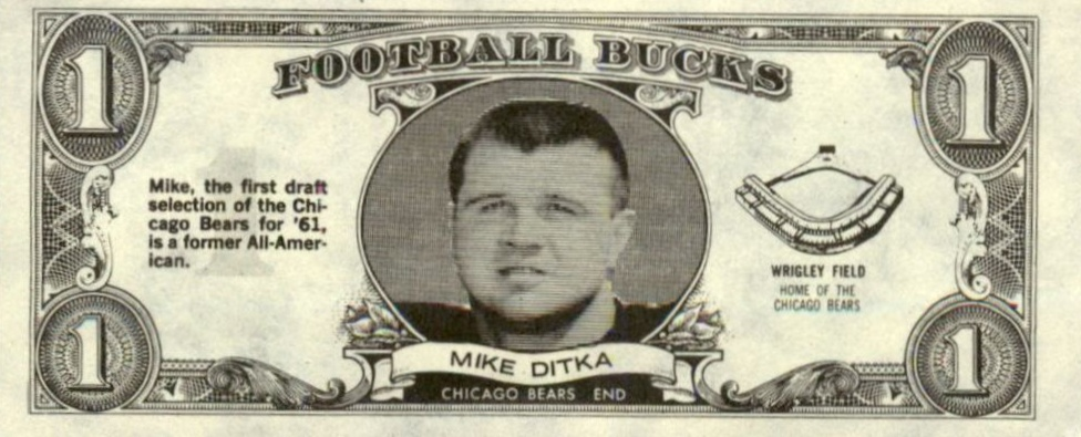 Top 10 Mike Ditka Football Cards 7