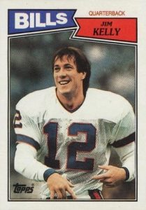 Top 10 Jim Kelly Football Cards 9