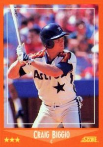 Top 10 Craig Biggio Baseball Cards 10