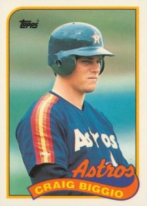 Top 10 Craig Biggio Baseball Cards 5