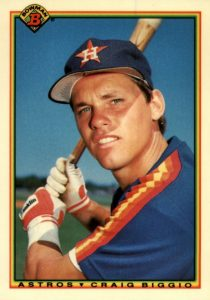 Top 10 Craig Biggio Baseball Cards 1