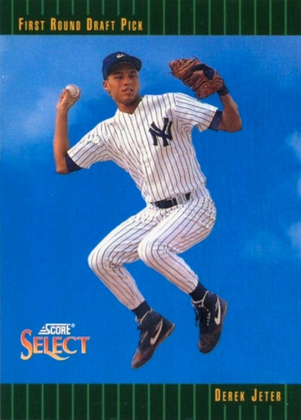 Salute The Captain! Ranking the Best Derek Jeter Rookie Cards 2