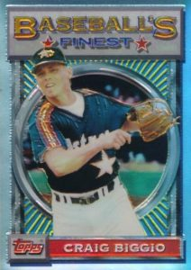 Top 10 Craig Biggio Baseball Cards 6