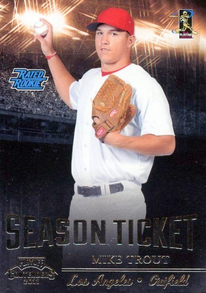 Mike Trout Rookie Cards Checklist and Autographed Memorabilia Guide 5
