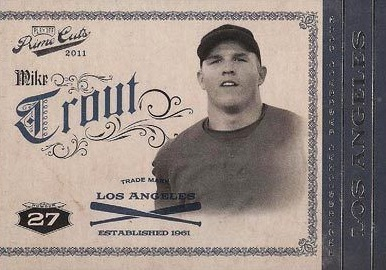 Mike Trout Rookie Cards Checklist and Autographed Memorabilia Guide 6