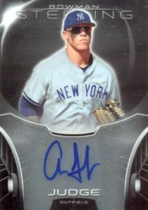 Aaron Judge Rookie Cards Checklist and Key Prospects 89