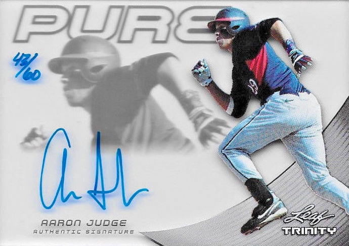 Aaron Judge Rookie Cards Checklist and Key Prospects 93