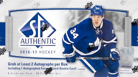 2016-17 SP Authentic Hockey