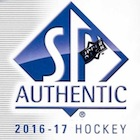 2016-17 SP Authentic Hockey Cards