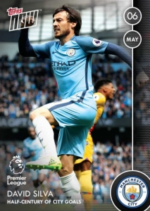 2016-17 Topps Now Premier League Soccer Cards 33