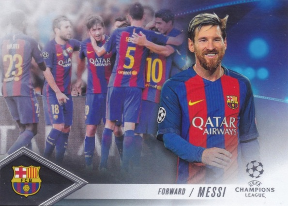 2016-17 Topps UEFA Champions League Showcase