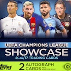 2016-17 Topps UEFA Champions League Showcase Soccer Cards