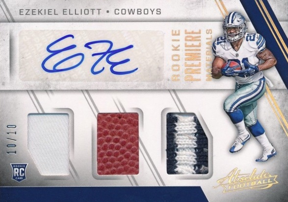 Top Ezekiel Elliott Rookie Cards 1