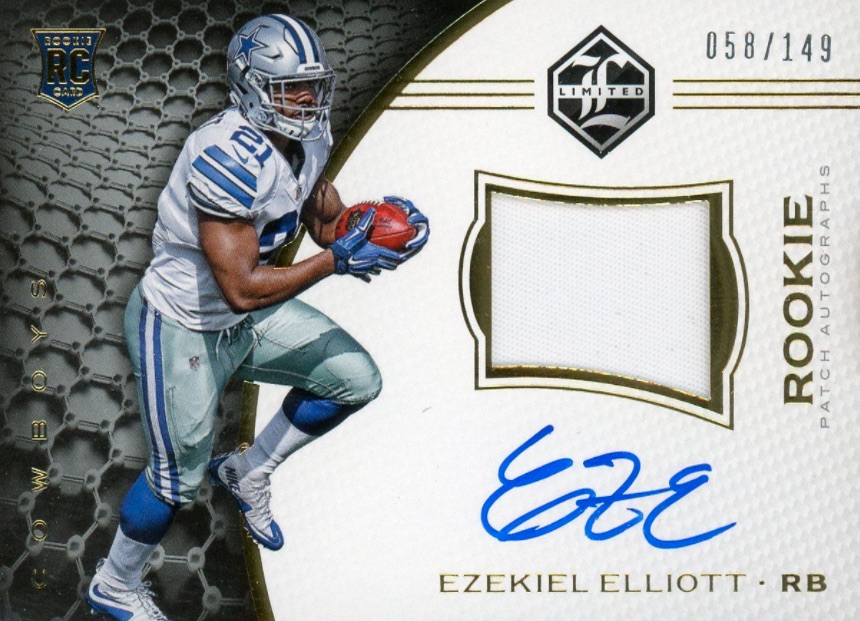 Top Ezekiel Elliott Rookie Cards 18