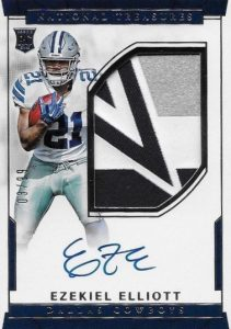 Top Ezekiel Elliott Rookie Cards 20