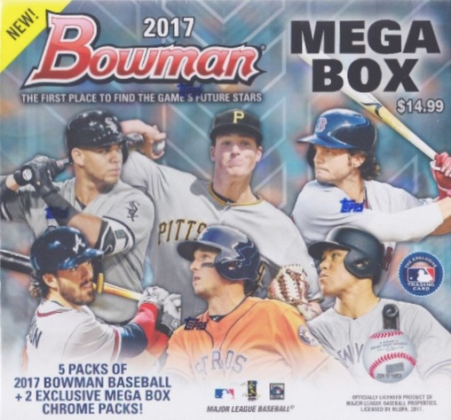 2017 Bowman Mega Box Chrome Baseball Cards