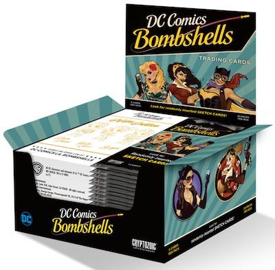 2017 Cryptozoic DC Comics Bombshells Trading Cards 5