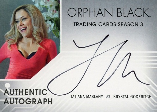 2017 Cryptozoic Orphan Black Season 3 Trading Cards 1